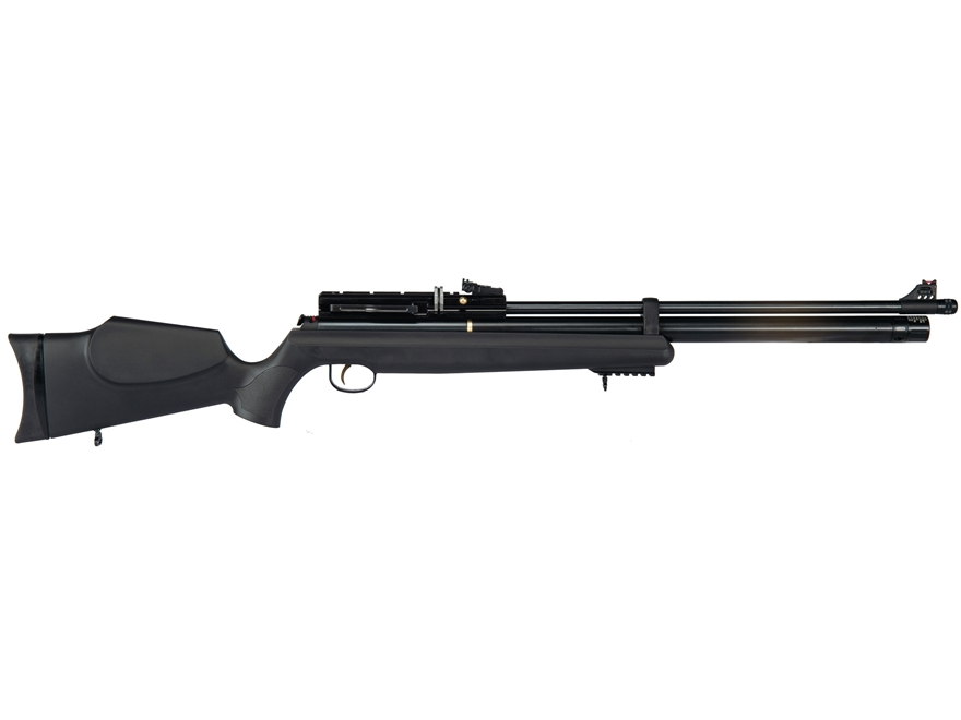 Hatsan AT44S-10 PCP Air Rifle Pellet Black Synthetic Stock Black Barrel