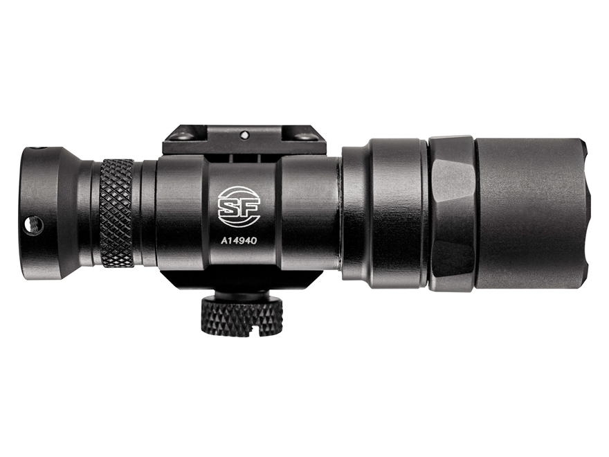 Surefire M300 Mini Scout Light Weapon Light LED with 1 CR123A Battery Aluminum Black