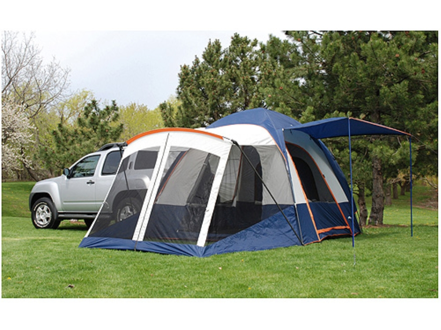 Napier Sportz 83000 SUV Tent With Screen Room Polyester Blue Gray and Orange  sc 1 st  MidwayUSA : tent with screen room - memphite.com