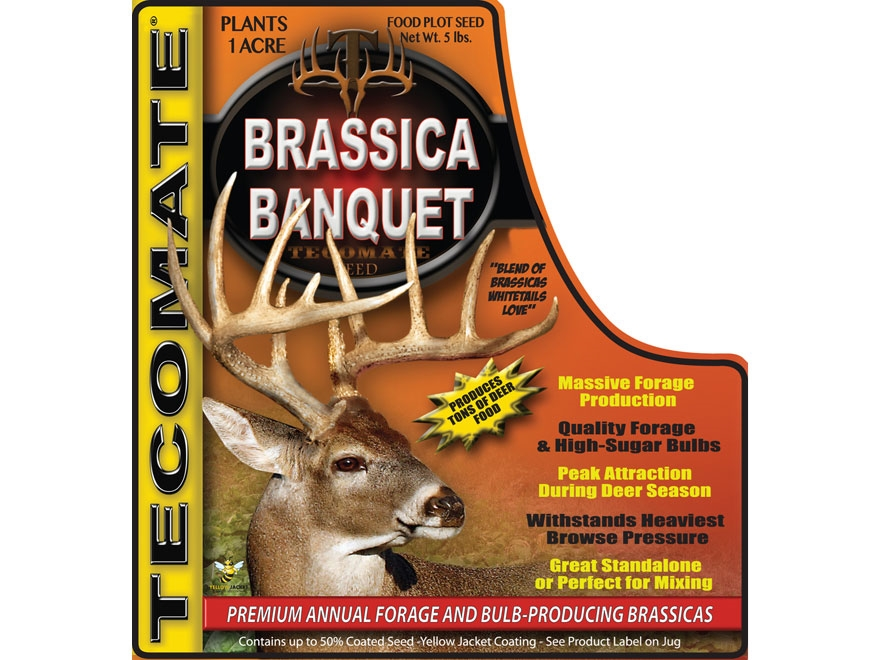 Tecomate Brassica Banquet Annual Food Plot Seed 5 lb