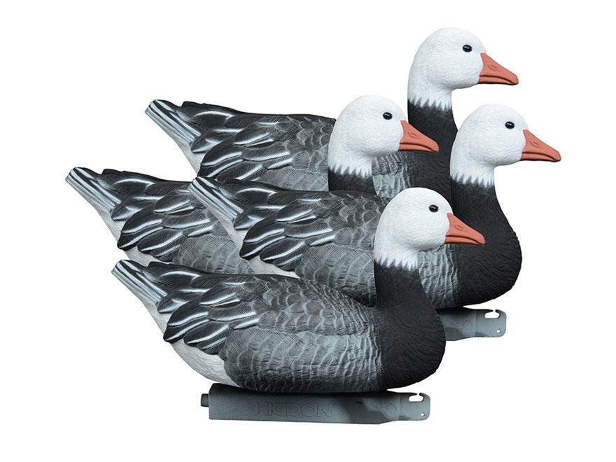 Higdon Full Size Floater Blue Goose Decoy Polymer Pack of 4