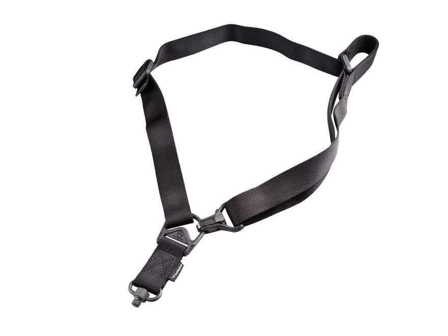 Magpul MS3 Multi-Mission Single Point / 2 Point Sling with Push Button Swivel Nylon Black