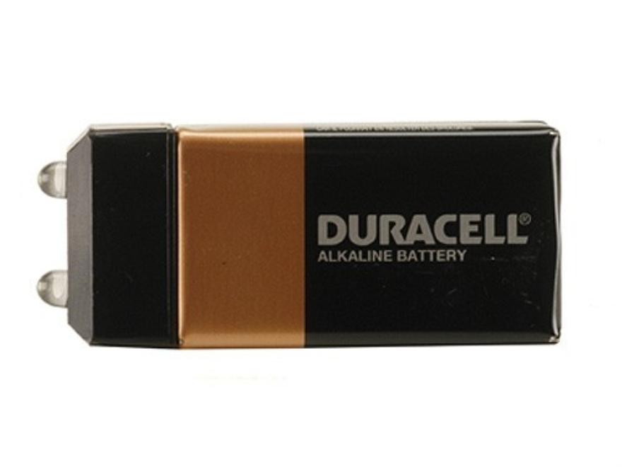 CrossTac Pak-Lite Flashlight White LED Requires 1 9 Volt Battery Polymer Black