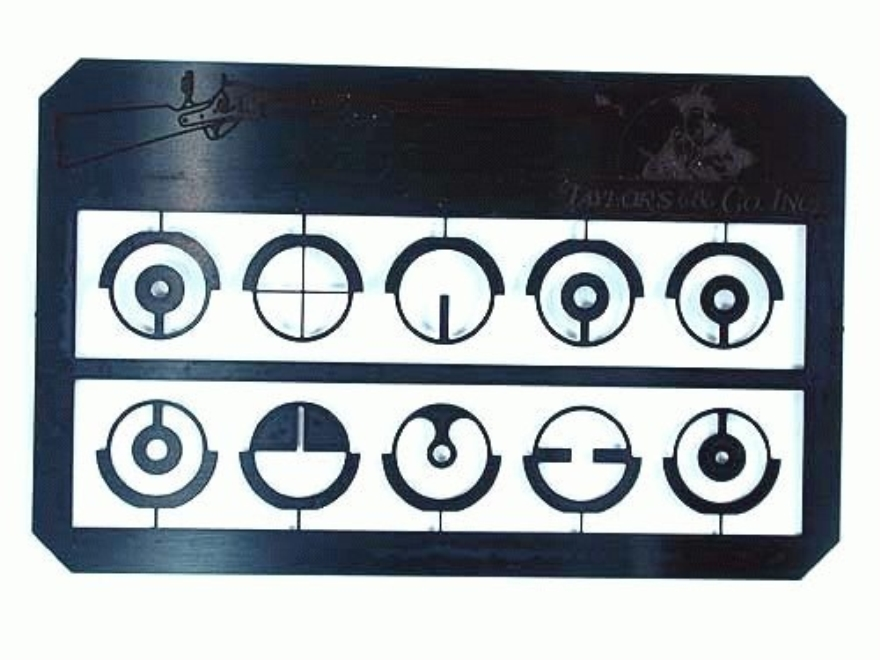 Taylor's & Company Aperture Sight Inserts for Taylor's Globe Front Sight Package of 10