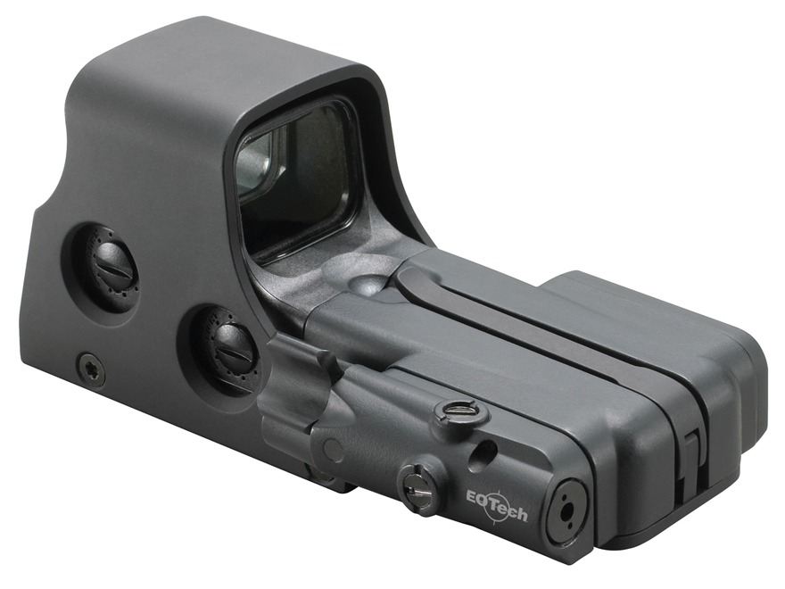 EOTech 512 Holographic Weapon Sight 68 MOA Circle with 1 MOA Dot Reticle with Laser Bat...