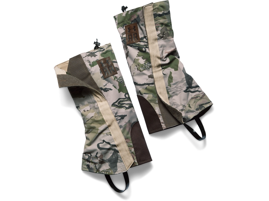 Under Armour Ridge Reaper Gaiters Polyester and Kevlar Ridge Reaper Barren Camo One Siz...