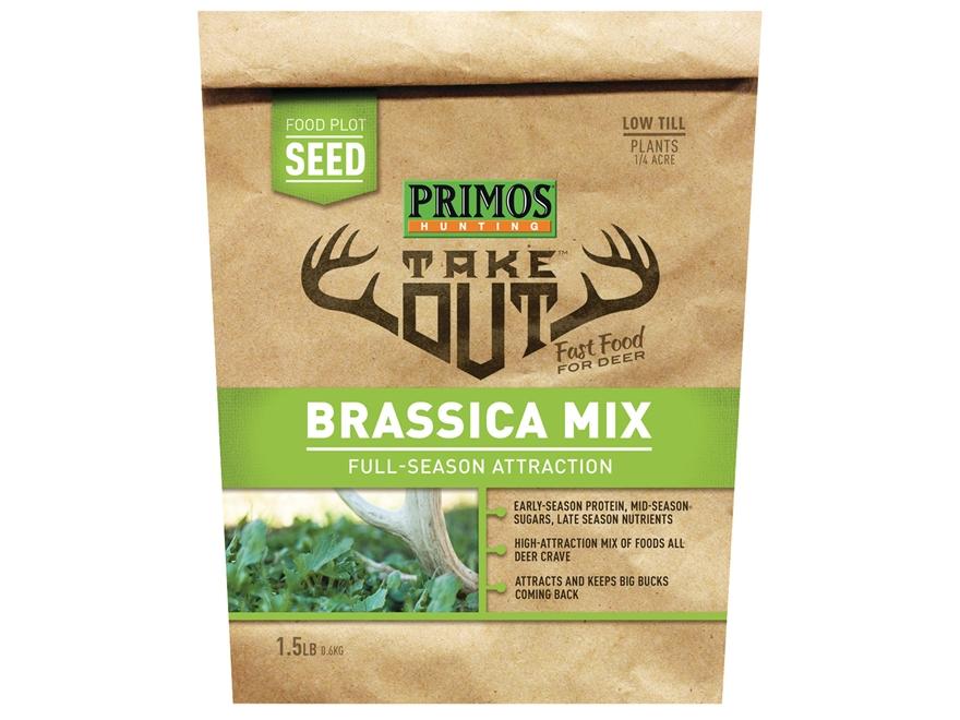 Primos Take Out Brassica Blend Food Plot Seed 1.5 lb Bag