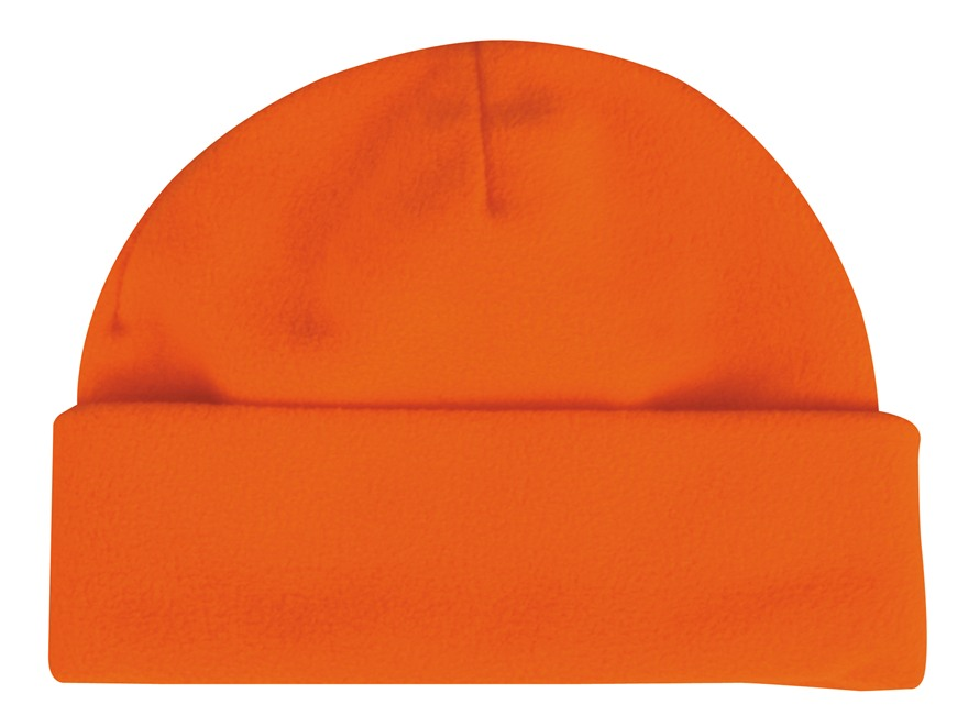 Outdoor Cap Fleece Watch Cap Polyester Blaze Orange
