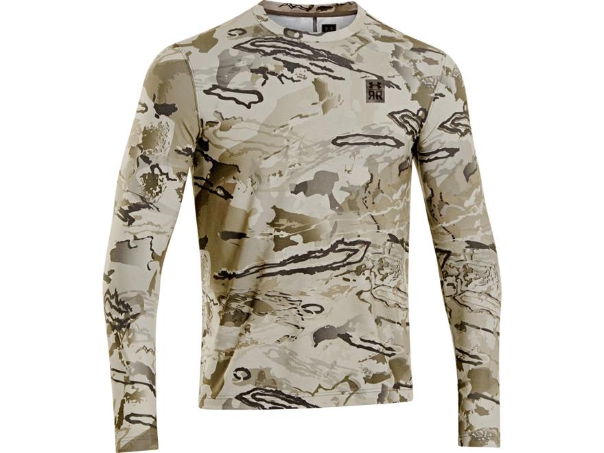 Under Armour Men's UA Ridge Reaper Nutech Shirt Long Sleeve Polyester Ridge Reaper Barr...