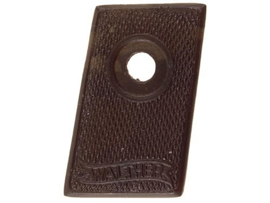 Vintage Gun Grips Walther #9 25 ACP Polymer Black