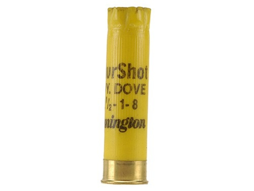 "Once-Fired Remington Shotshell Hulls 20 Gauge 2-3/4"" 6 Point Crimp Yellow Bag of 100"