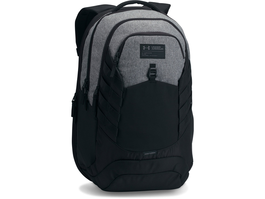 Under Armour Hudson Backpack Polyester Black and Graphite