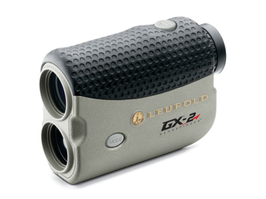 Leupold GX-2 Golf Laser Rangefinder 750 Yard 6x Silver/Black