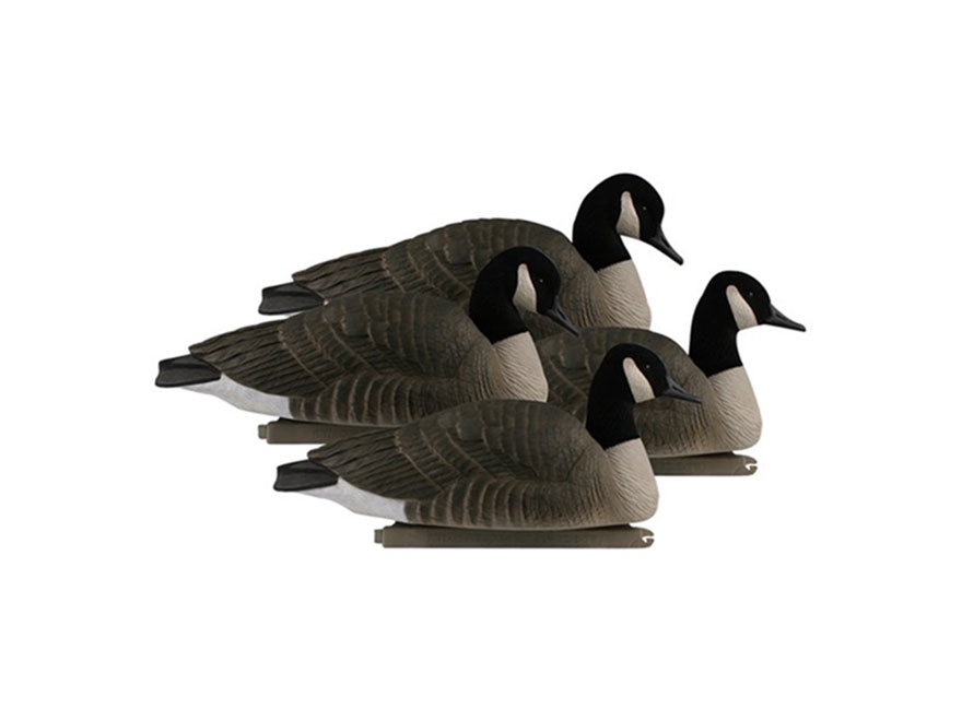 GHG Pro-Grade Rester Honker Floater Canada Goose Decoy Pack of 4