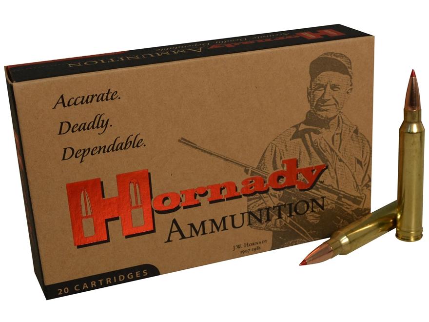 Hornady Match Ammunition 300 Winchester Magnum 178 Grain ELD Match Box of 20