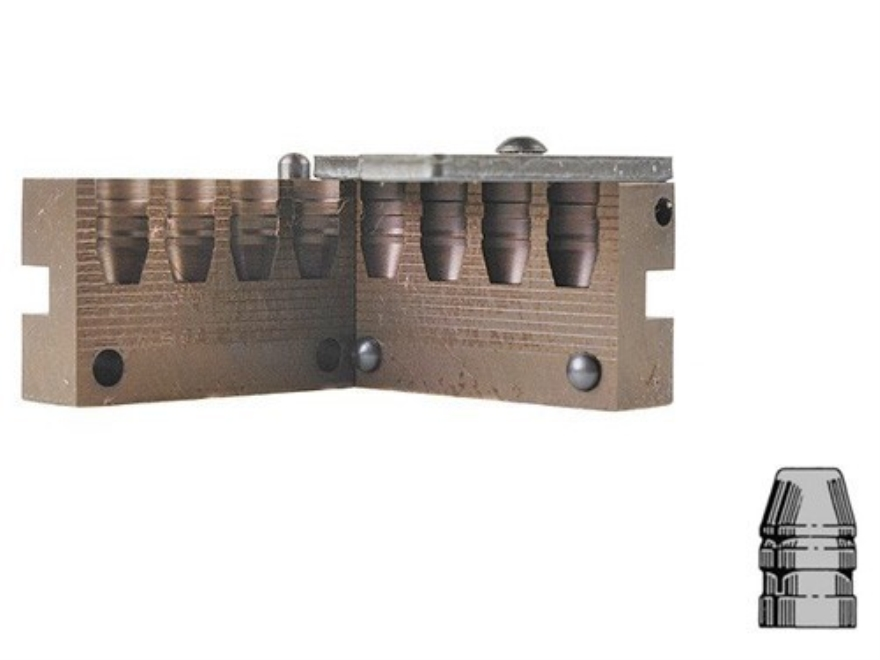Saeco 4-Cavity Bullet Mold #428 44 Special, 44 Remington Magnum (430 Diameter) 240 Grai...