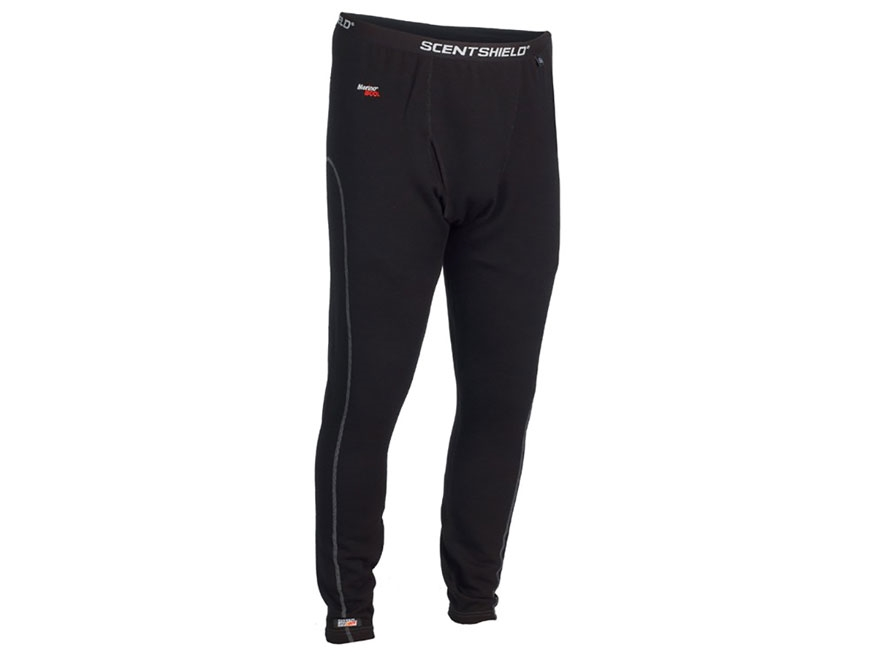 ScentBlocker Men's Expedition Base Layer Pants Merino Wool
