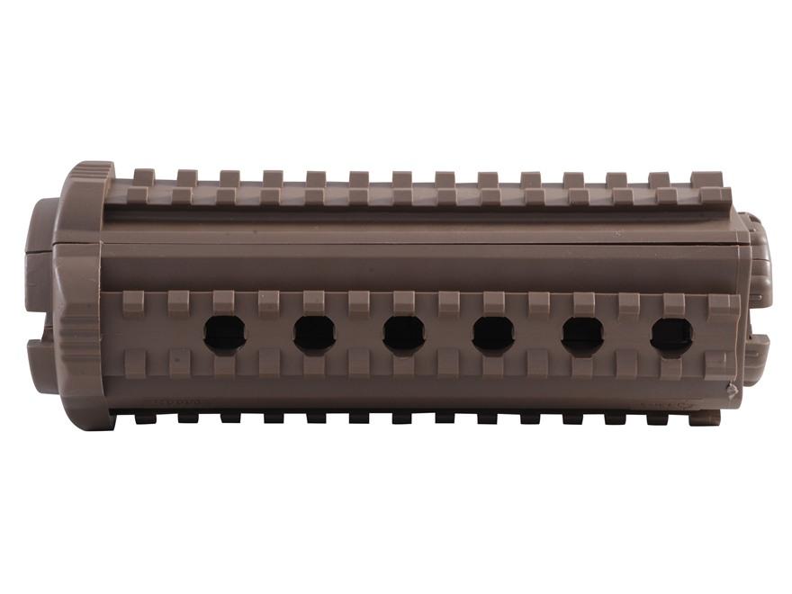 Mission First Tactical M44S 2-Piece Quad Rail Handguard AR-15 Carbine Length Polymer