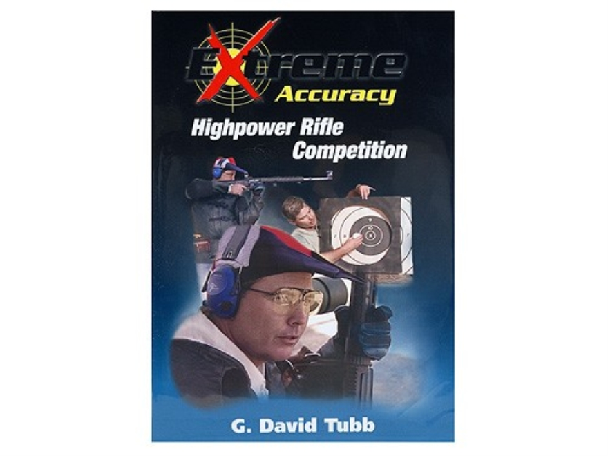 "Gun Video ""Extreme Accuracy: Highpower Rifle Competition With G. David Tubb"" 2 DVD Set"