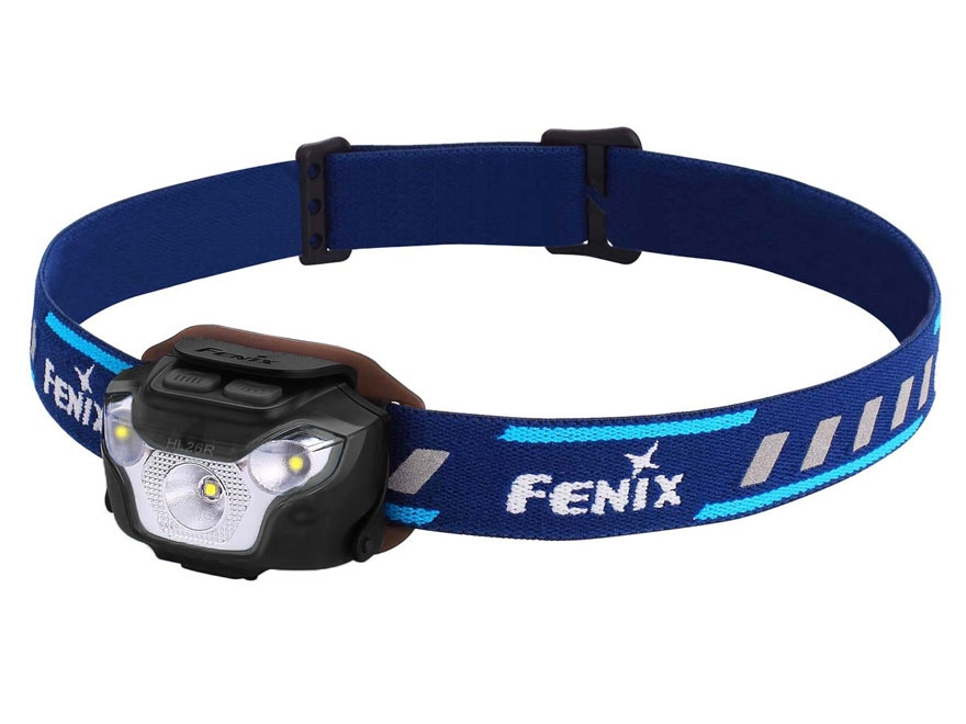 Fenix HL26R Headlamp LED with Rechargeable 1600 mAh Li-Polymer Battery Aluminum and Pol...
