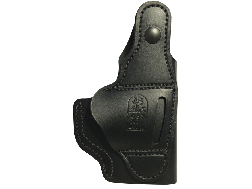 DeSantis Dual Carry II Inside/Outside the Waistband Holster Ruger LC9, LC380 Leather Black