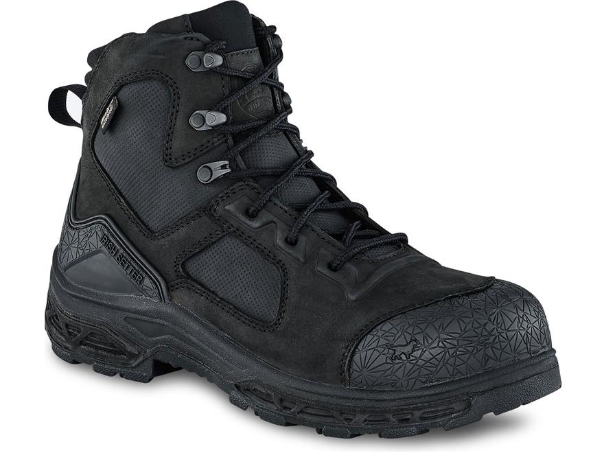 """Irish Setter Kasota 6"""" Waterproof Non-Metallic Safety Toe Work Boots Men's"""