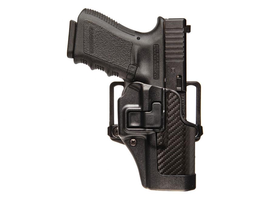 BLACKHAWK! CQC Serpa Holster Right Hand Ruger SR9, SR40 Polymer CF Black
