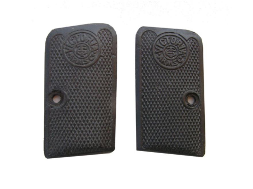 Vintage Gun Grips Victoria Arms Company Belgian 25 ACP Polymer Black