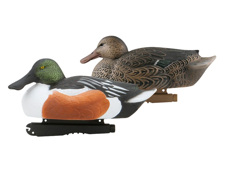 GHG Over-Size Weighted Keel Northern Shoveler Duck Decoys Pack of 6