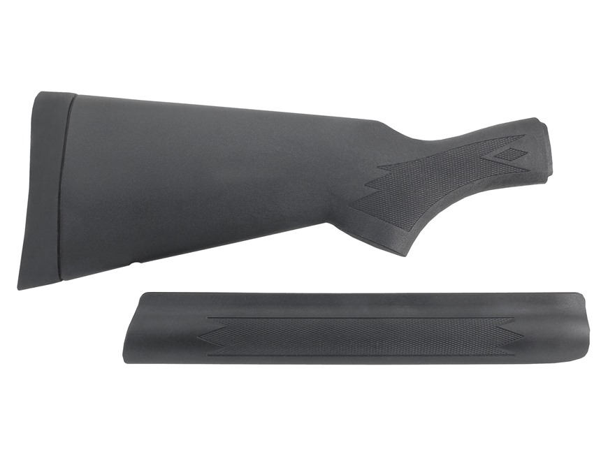 Remington Stock and Forend 1100, 11-87 20 Gauge Sportsman Standard Length Synthetic Black