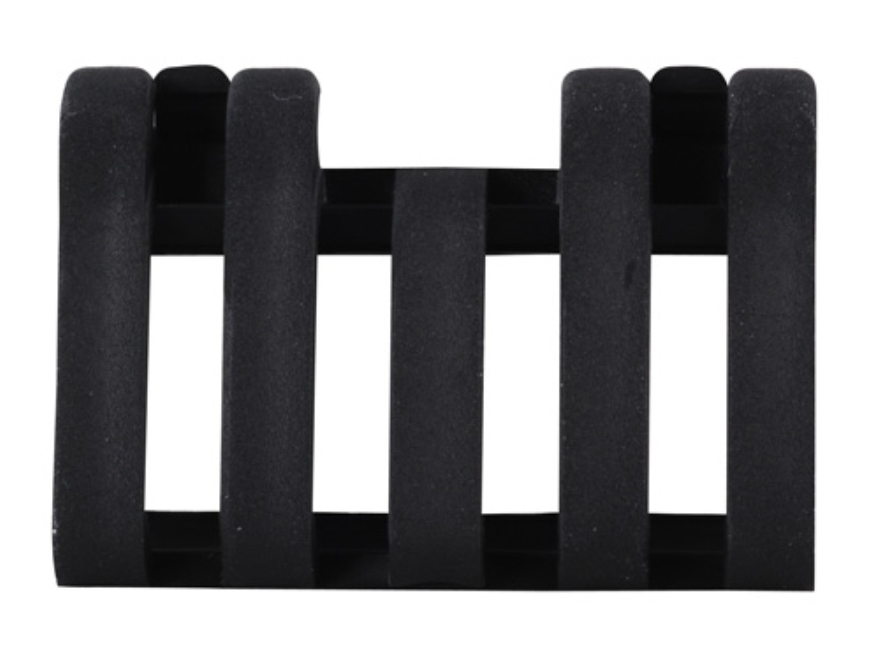 ERGO Low Profile Picatinny Rail Cover with Wire Loom 5-slot Polymer