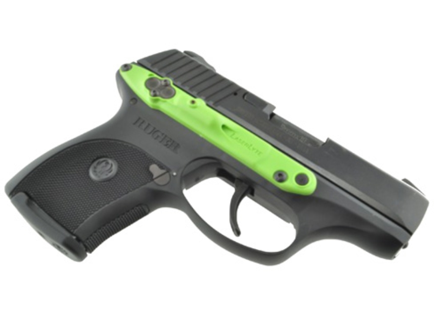 LaserLyte Zombie Side-Mount Laser Sight Kel-Tec/Ruger 9mm Zombie Green