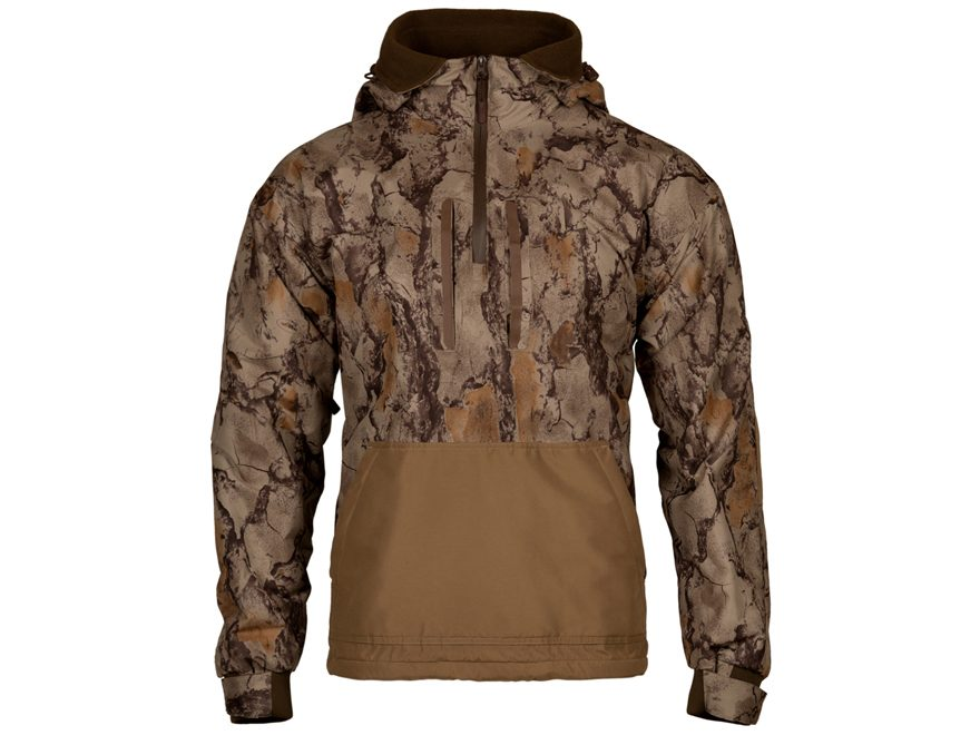 Natural Gear Men's Waterfowl Series 1/4 Zip Jacket Polyester Natural Camo