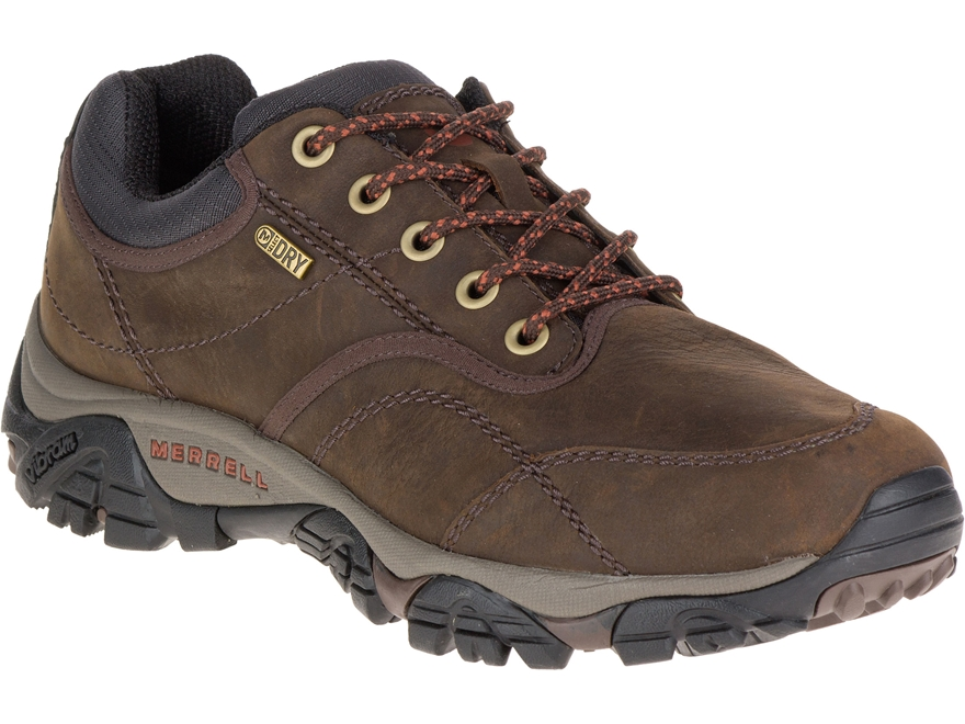 "Merrell Moab Rover Low 4"" Waterproof Hiking Shoes Leather Men's"