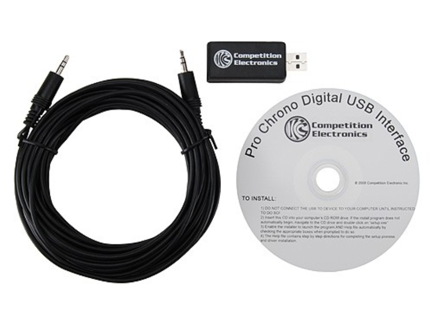 Competition Electronics Digital USB Interface for Pro Chrono Digital Chronograph
