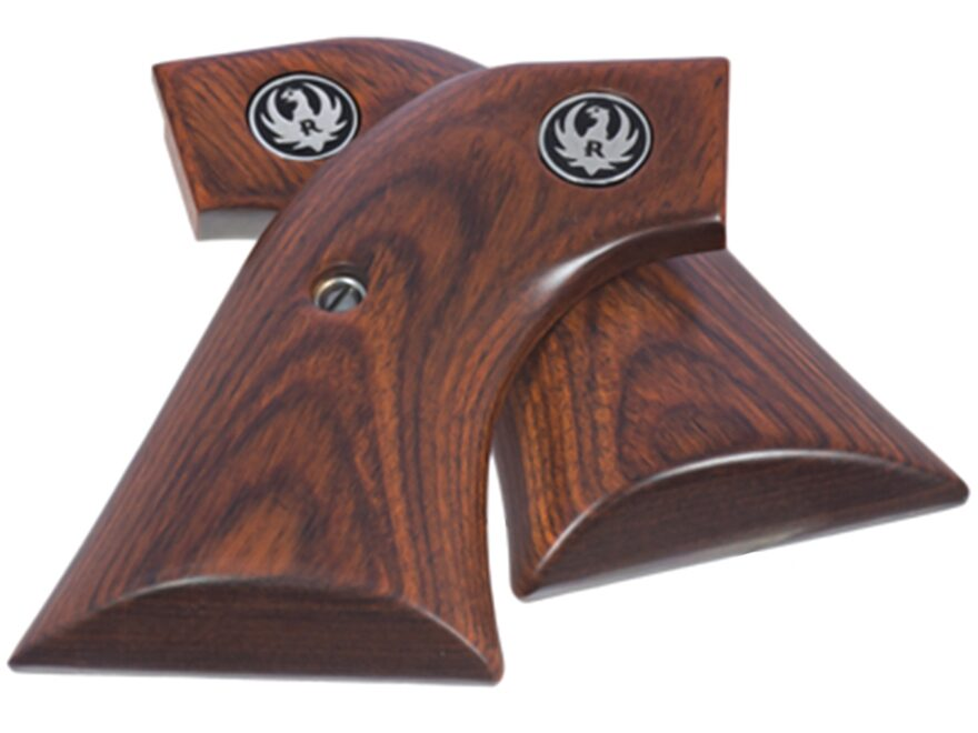 Ruger Factory Grips Ruger Blackhawk, Super Blackhawk, Vaquero, Single Six Models Rosewood