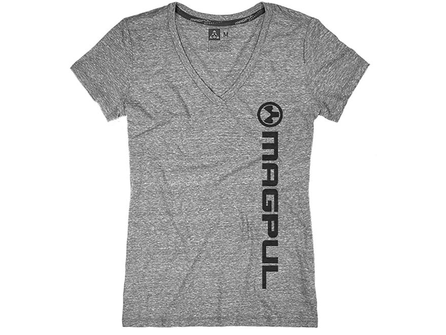 Magpul Women's Vert Logo V-Neck T-Shirt Short Sleeve