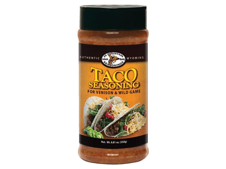 Hi Mountain Venison Taco Seasoning 8.8 oz