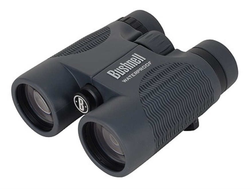 Bushnell H2O Binocular 10x 42mm Roof Prism Rubber Armored Black