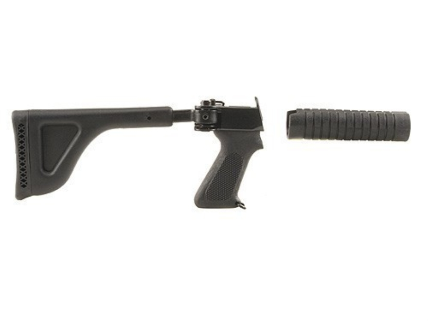Choate Side Folding Buttstock and Forend Remington 870 Steel and Synthetic Black