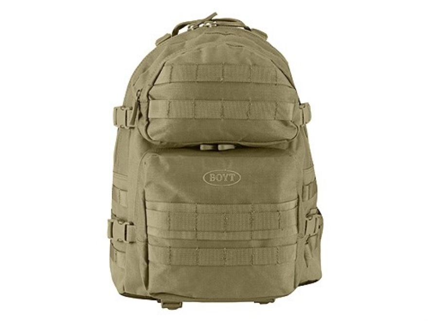 Boyt TAC030 Tactical Backpack Nylon Tan