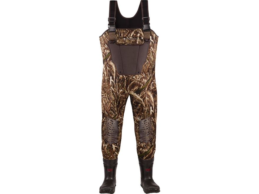 LaCrosse Mallard II 3.5mm 1000 Gram Insulated Neoprene Chest Waders Realtree Max-5 Camo...