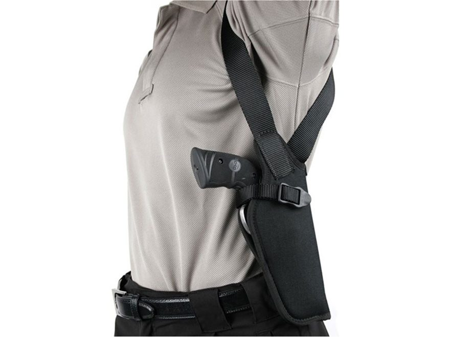 "BLACKHAWK! Vertical Shoulder Holster Right Hand Double Action Revolver 7"" to 8-1/2"", Si..."