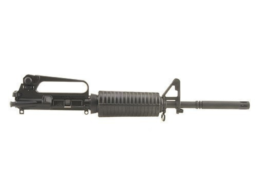 "DPMS AR-15 A2 CAR Upper Assembly 5.56x45mm NATO 1 in 9"" Twist 16"" Barrel Chrome Moly Ma..."