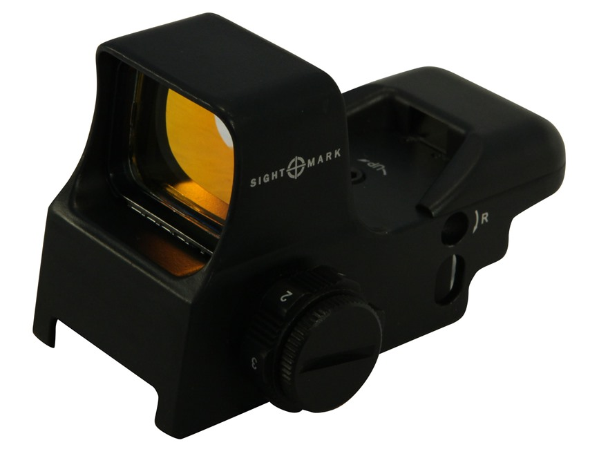 Sightmark Ultra Shot Reflex Red Dot Sight 30mm Tube 1x 4 Pattern (Dot, Cross, Cross-Cir...