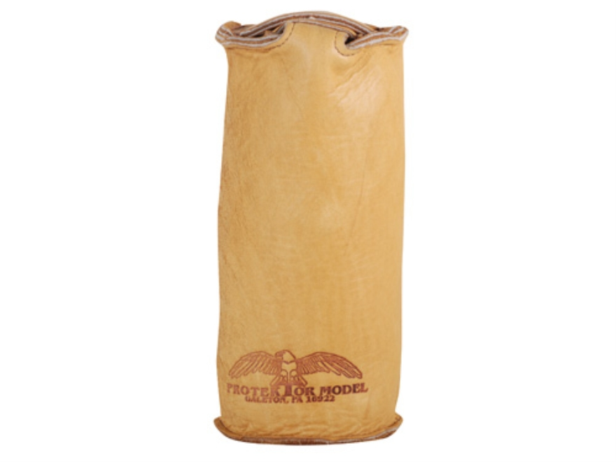 Protektor Sissy Rear Shooting Rest Bag Leather Tan Filled