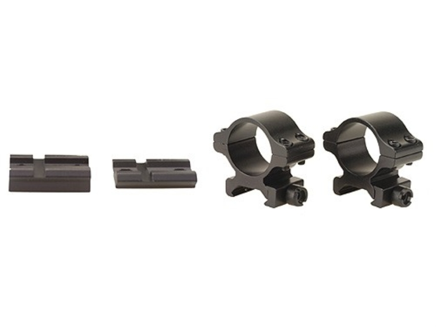 """Millett 2-Piece Angle-Loc Weaver-Style Scope Base with 1"""" Angle-Loc Rings Medium Winche..."""