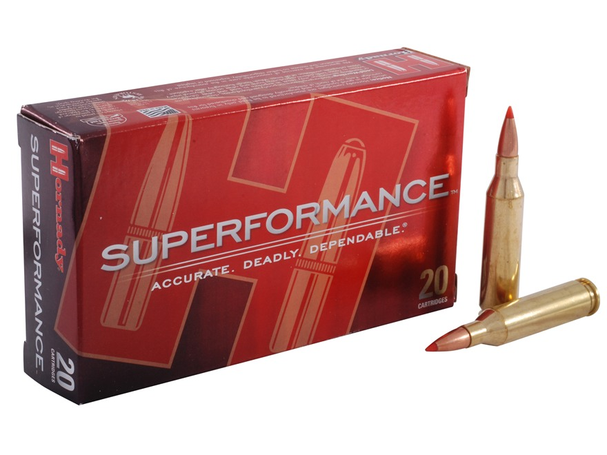 Hornady Superformance SST Ammunition 243 Winchester 95 Grain SST Box of 20