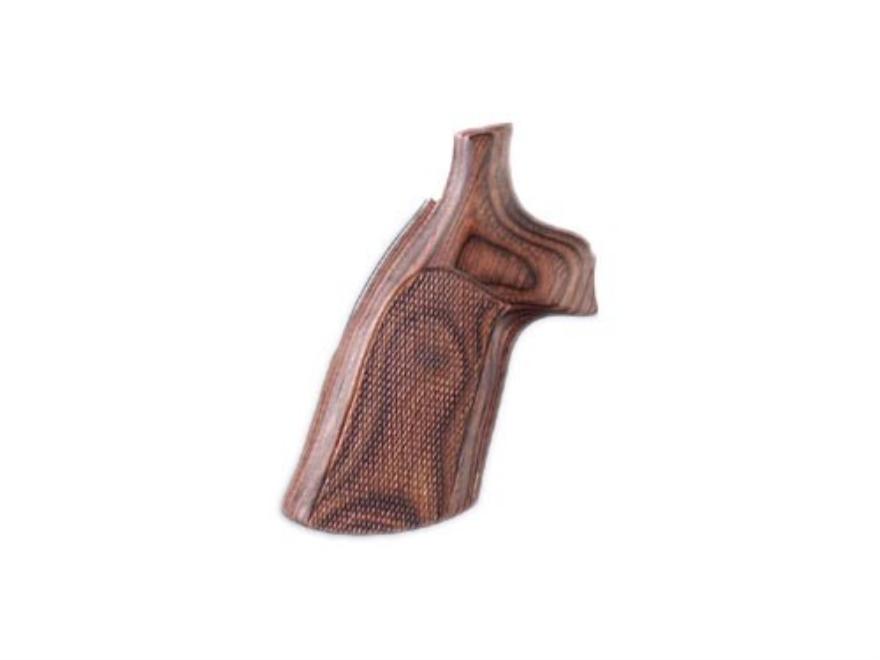 Hogue Fancy Hardwood Grips Colt Diamondback Checkered