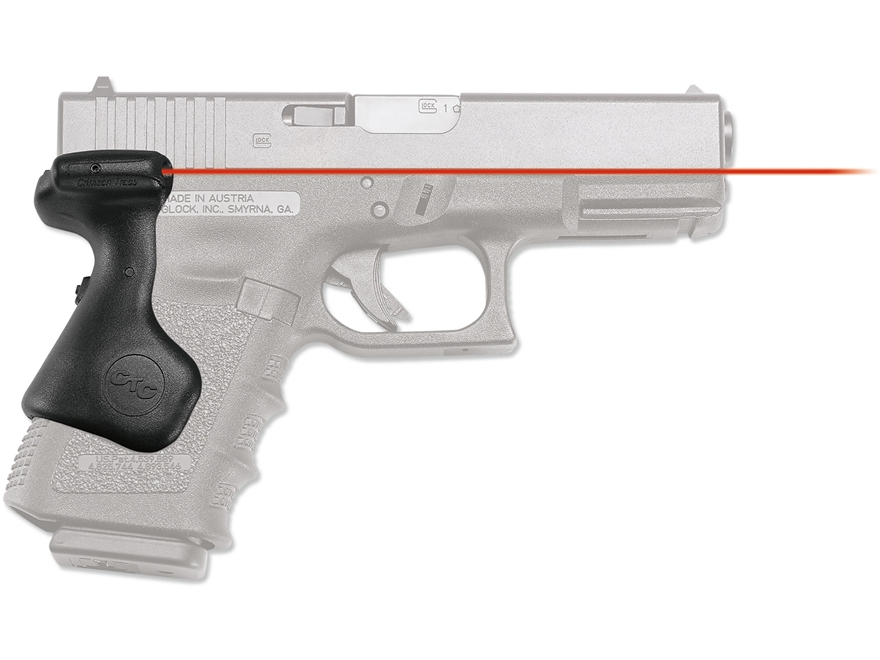 Crimson Trace Lasergrips Glock Gen-3 19, 23, 25, 32 Rear Activation with Master On/Off ...